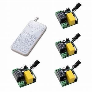 Hot Sale Radio Controller Rf Wireless Relay Remote Control