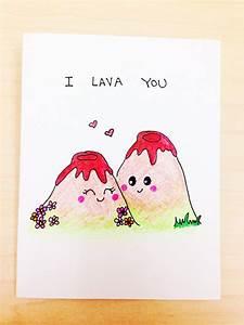 I lava you funny love card, funny anniversary card, cute ...