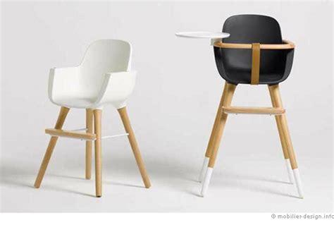 chaise haute bébé design une chaise haute design pour enfant
