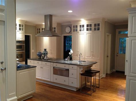 kitchen ivory cabinets with blue pearl granite kitchen