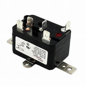White Rodgers 24-volt Coil-voltage Spdt Rbm Type Relay-90-293q