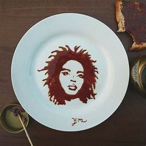 Yaseen creates food art like Audrey Hepburn in cocoa and ...