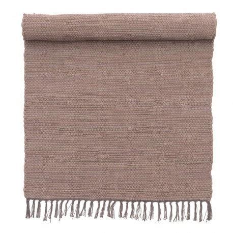 tapis descente de lit petit tapis descente de lit mauve coton bungalow denmark 60 x 90 cm