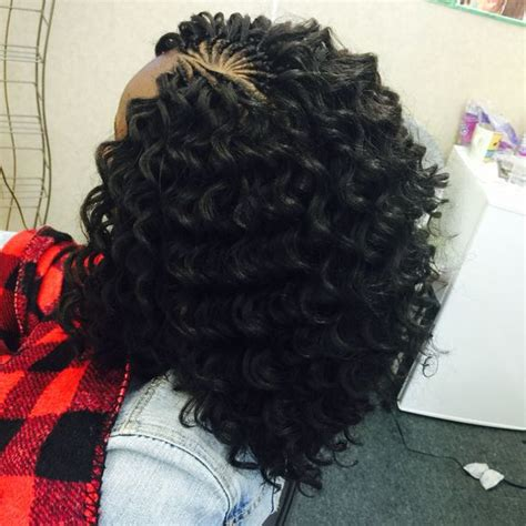 protective tree braids hairstyles  natural hair part