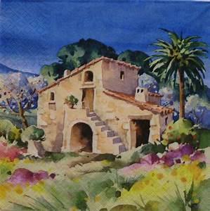 Haus Garten Shop : spanien haus mit garten sonjas servietten shop ~ Lizthompson.info Haus und Dekorationen