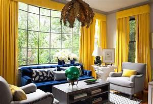 Rideau Couleur Or : couleur rideau avec mur gris 42596 ~ Teatrodelosmanantiales.com Idées de Décoration