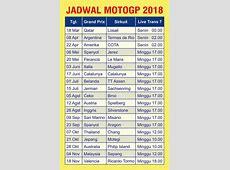 Jadwal MotoGp 2018 plus Live Race Trans7 https