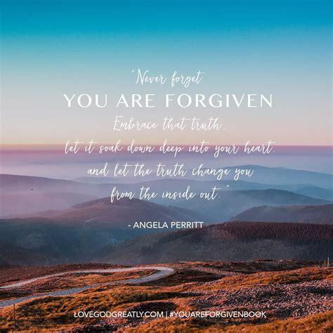 forgiven love god greatly