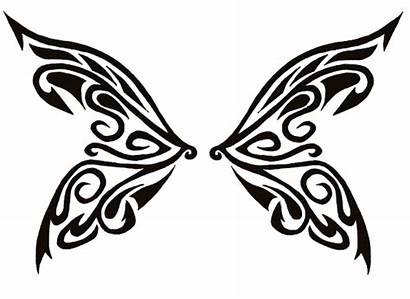 Butterfly Wings Tribal Wing Clipart Tattoo Tattoos