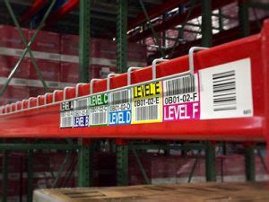 common types  warehouse labels id label
