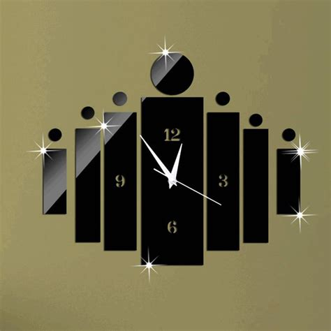 horloge murale moderne cuisine