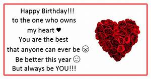 Happy birthday messages for boyfriend - Boyfriend birthday ...