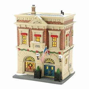 Dept 56 Christmas In the City Precinct 56 Police