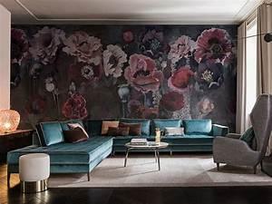 Wall Art Tapeten : carta da parati con motivi floreali pavot collezione contemporary wallpaper 2017 by wall dec ~ Markanthonyermac.com Haus und Dekorationen