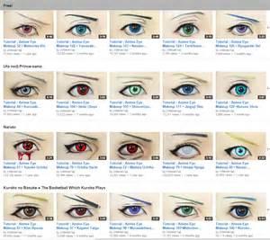 Anime Eyes Makeup Tutorial