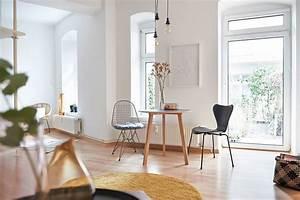 1 Zimmer Wohnung Einrichtung : hausbesuch moderne 1 zimmer wohnung mit bunten midcentury akzenten ~ Bigdaddyawards.com Haus und Dekorationen