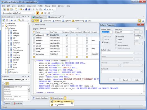 dbforge studio  mysql   software