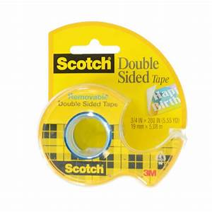 Scotch Double Face : scotch removable double sided tape 3 4 x 200 ebay ~ Melissatoandfro.com Idées de Décoration