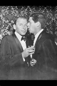 Jerry Lewis and Frank Sinatra