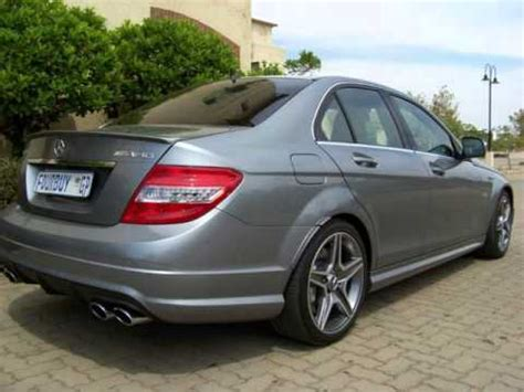2011 mercedes benz c350 4matic amg sports pkg. 2008 MERCEDES-BENZ C-CLASS C63 AMG Auto For Sale On Auto Trader South Africa - YouTube