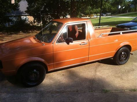 Sell Used 1982 Vw Rabbit Truck Ls Diesel A/c No Rust, No