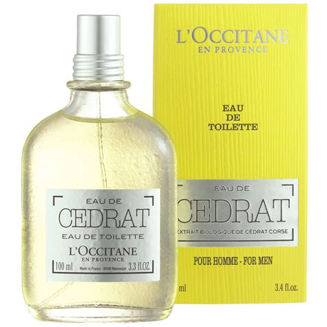 eau de cedrat l occitane en provence cologne a new fragrance for 2015