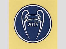 Barcelona UEFA CHAMPIONS LEAGUE 2015 Soccer Patch Badge