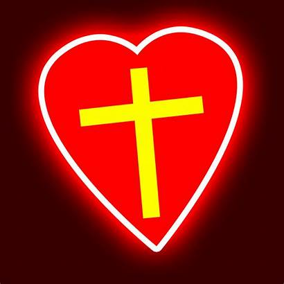 Cross Heart Christmas Princess Glow Creative Cup