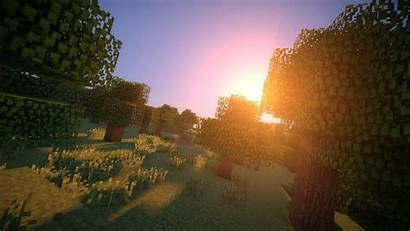 Minecraft Shaders 4k Wallpapers Mod Background Backgrounds
