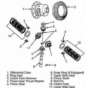 Need Diagram Of Exploded View For 2000 Durango Rear End S