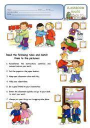 school rules classroom rules    school