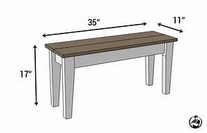Small Entry Bench { Free DIY Plans } Rogue Engineer