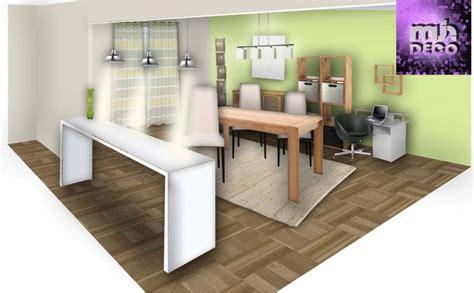 deco salon cuisine déco salon salle à manger cuisine