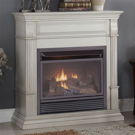 duluth forge dual fuel ventless gas fireplace  btu