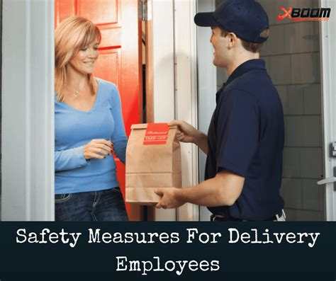 safety measures  delivery employees protection
