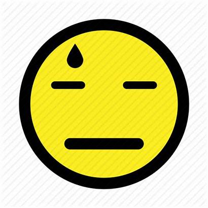 Tired Emoticon Exhausted Frustrated Annoyed Icon Disappointed