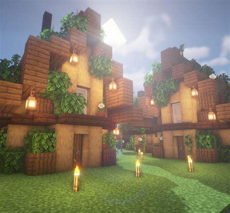 small house design inspired  goodtimeswithscars hermitcraft base minecraftbuilds cute