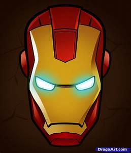 How to Draw Iron Man Easy, Step by Step, Marvel Characters ...
