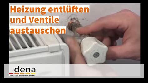 alte heizung entlüften heizung entl 252 ften und ventile austauschen