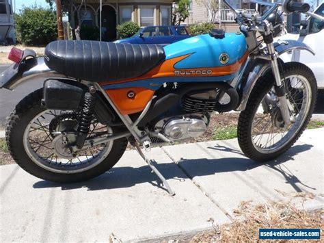 1975 Bultaco Alpina For Sale In Canada
