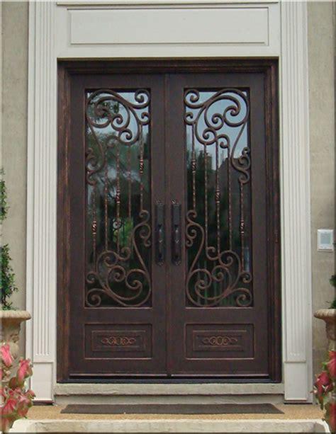 custom wrought iron doors tuscan iron entries