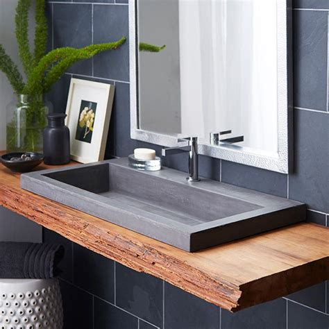 bathroom sink designs i the mix of modern and rustic in this bathroom