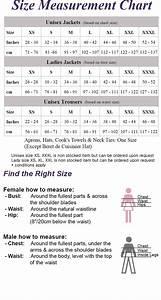 Ocp Size Chart Female Apprentice Chef Kit 7 Pcs Set Ecotel