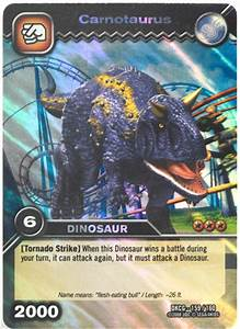 Dinosaur King Move Cards Carnotaurus | www.pixshark.com ...