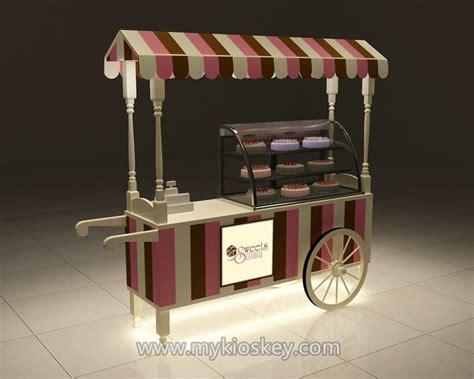 arrival gelato  cake cart  indoor mall