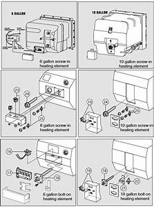 Atwood Water Heater Troubleshooting For Atwood Water Heater Parts Diagram