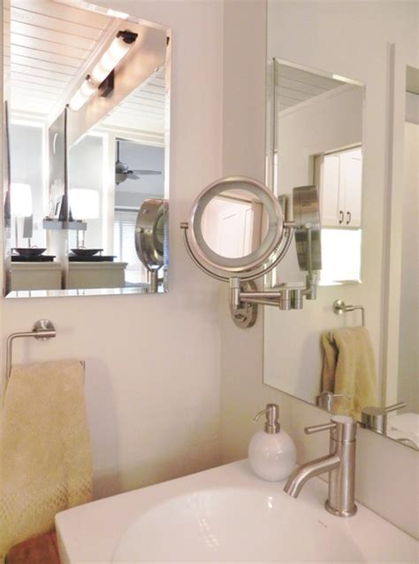 Bathroom Wall Mounted Mirrors by Square Vessel Sink Wall Mounted Mirror Medicine Cabinet