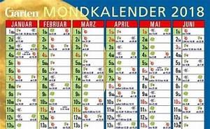 Blumen Gießen Mondkalender 2017 : mein schoener garten de mondkalender 2018 mein schoner ~ Lizthompson.info Haus und Dekorationen