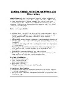 duties of a assistant for a resume assistant description assistant resume duties