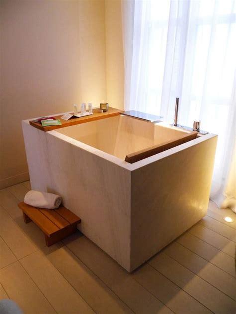Baden In Holz by Rechteckige Ofuro Badewanne Mit Holz Ablage Bath